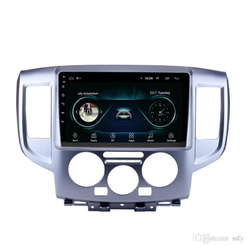 Android car radio with precise GPS navigation vidio HD1080 Resolution HD 1024* 600 microphone mp3 mp4 music for Nissan NV200 10.1inch