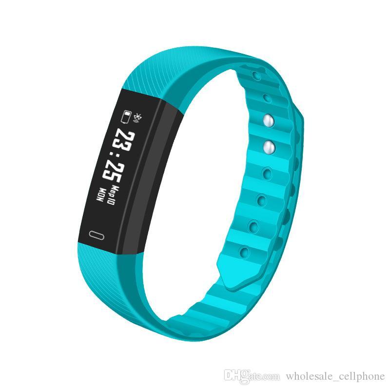 ID115HR Smart-Armband-Uhr-Blutdruck-Puls-Monitor-Smart-Uhren Fitness Tracker Wasserdichte Armbänder für iOS Android-Uhr
