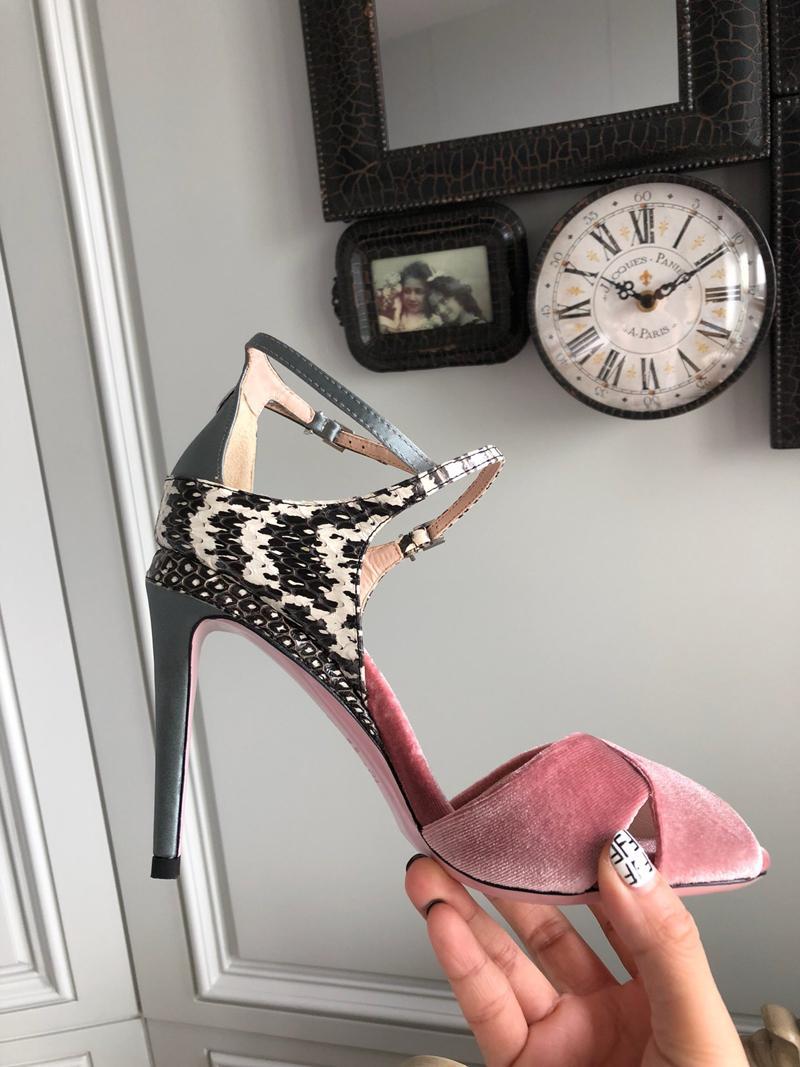 2020 mujeres del diseñador de moda de lujo zapatos altos talones de las sandalias para mujer Scarpe Chaussures firmate tamaño de las sandalias de diseño sandale 35-41 -118