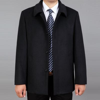 Men's Pea Coat 2020 New Business Casual Jacket Wool Coat Trench Male Overcoat High Quality Plus Szie 3XL LX785