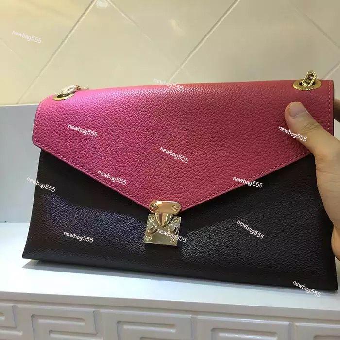 Neue Art und Weise Handtasche Designer-Taschen Palls Tote Kette Geldbeutel schwarze Schultertaschen Spiel m41200 Gold hw Leder Umhängetasche Oxidieren