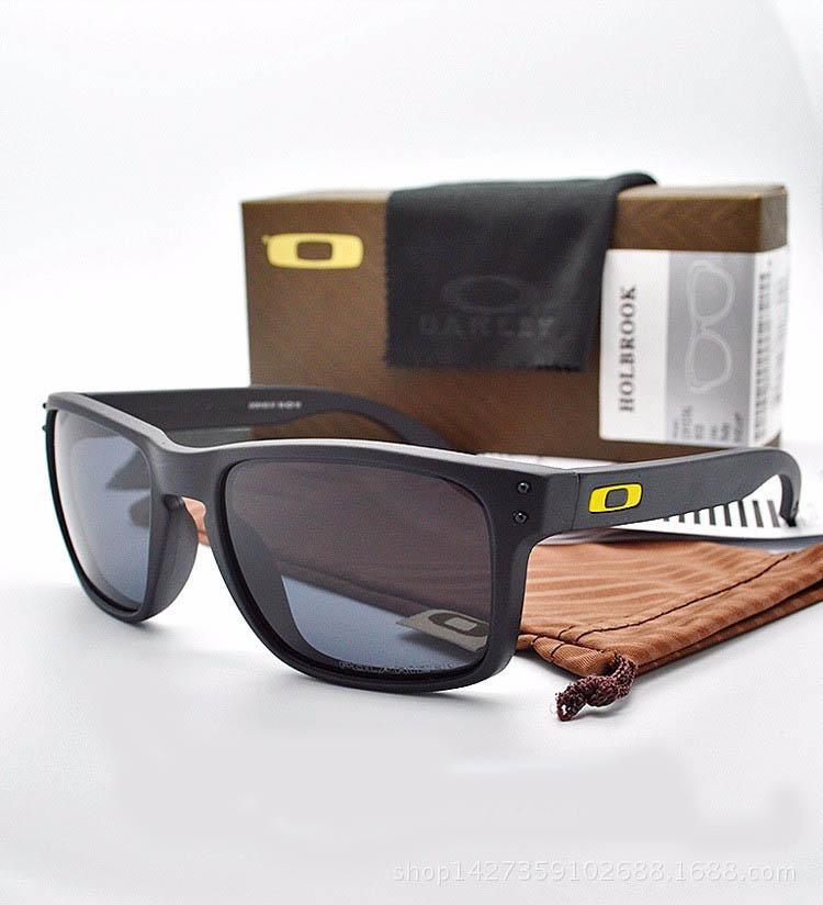 Nuevo Mejor Versión Holbrookaccesorios originales gafas de sol TR90 prohibiciones marco UV400 de la lente de los vidrios de Sun Sports tendencia de la moda de las lentes Gafas