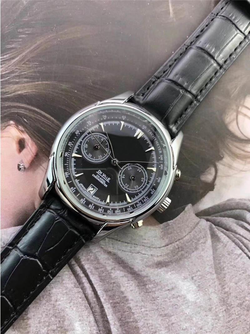 New all seconds stainless steel top luxury fashion men's watches designer popular quartz watch sports uniforms men's watch Reloj Muje 2019