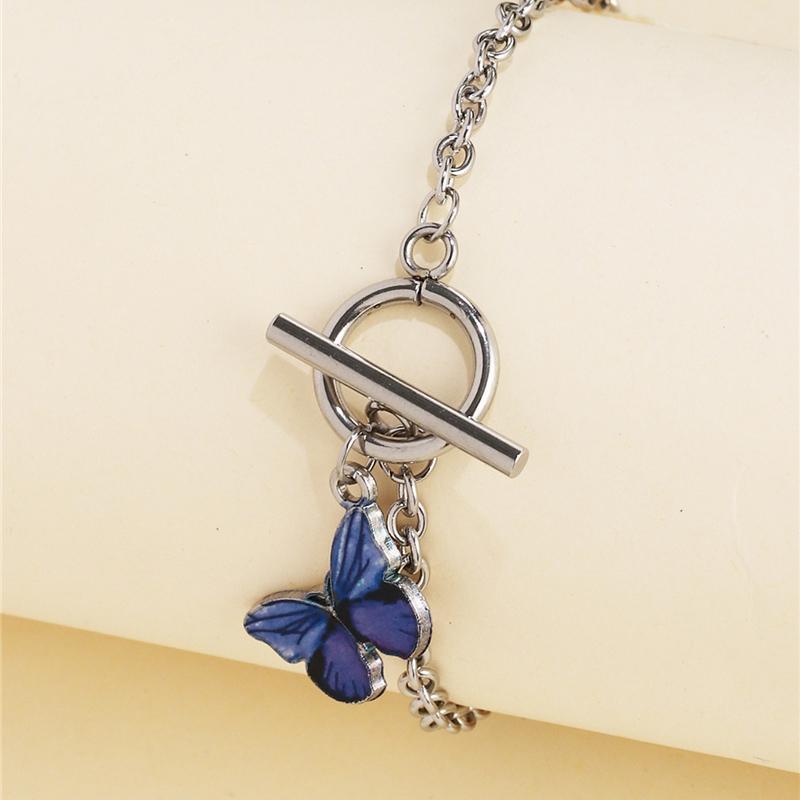 Cadena Jujia Moda nuevo diseño pulsera de las mujeres del amor regalos de la mariposa del partido de la vendimia pulsera de los brazaletes Accesorios