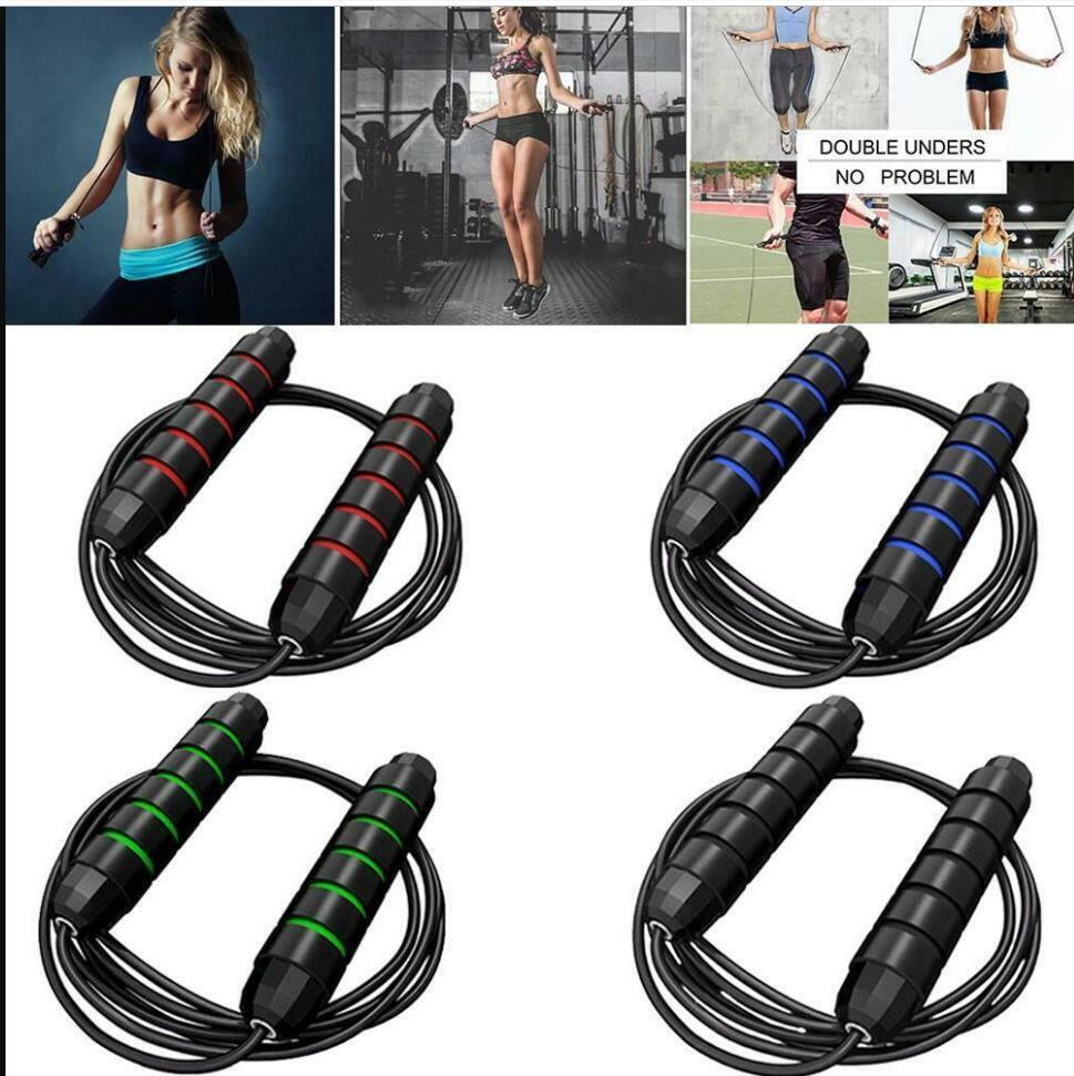 DHL Ship Pen Jump Rope Crossfit Jump Rope Adjustable Jumping Rope Training Aluminum Skipping Ropes Fitness Speed Skip Training FY7057