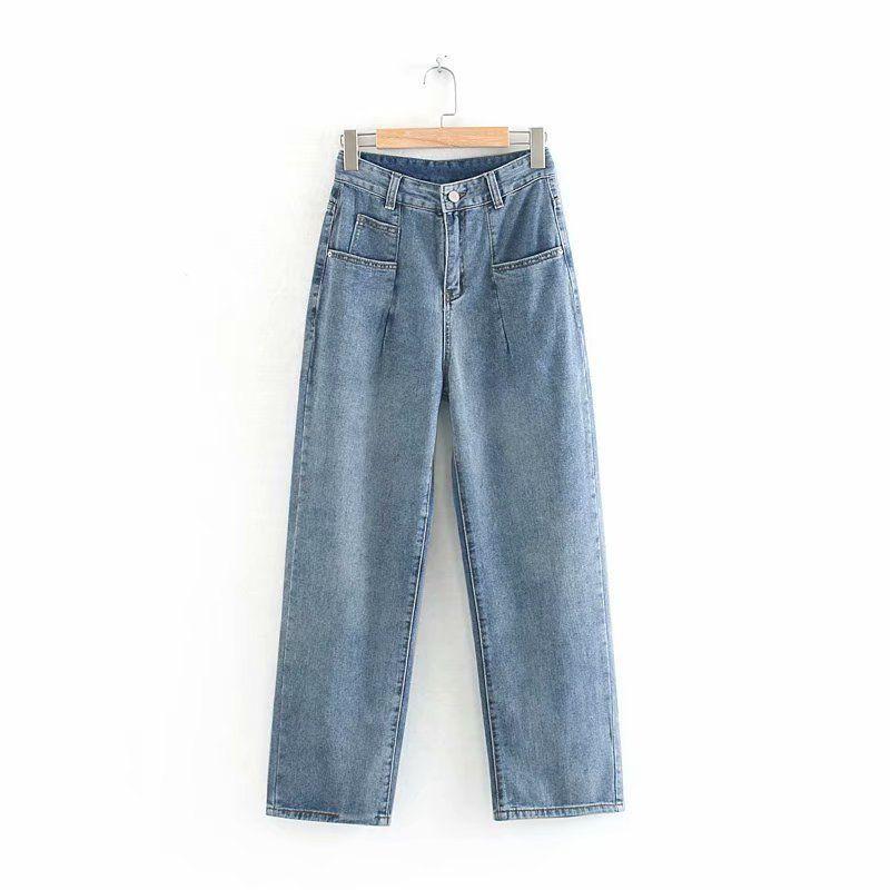 Горячая продажа Wenwenjia 60-6122 европейские и американские джинсы моды