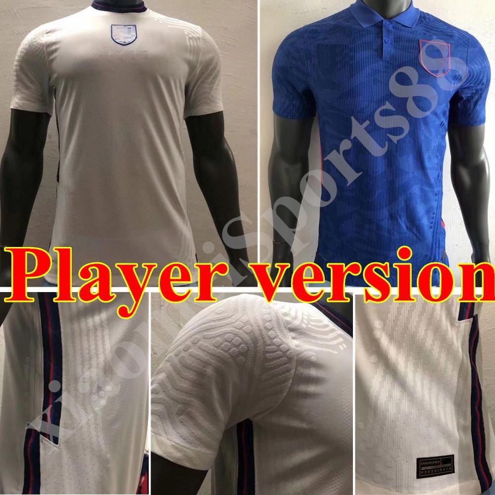 2020 플레이어 버전 잉글랜드 축구 유니폼 KANE 산초 스털링 (20) (21) DELE LINGARD RASHFORD 축구 셔츠