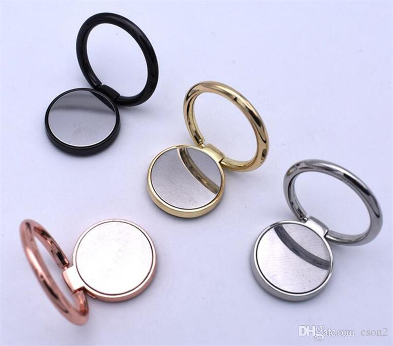 Carro móvel telefone estar Instrumento Suporte multifunções Car Magnetic Phone Ring Stand Holder Para Samsung S5 S8 Huawei