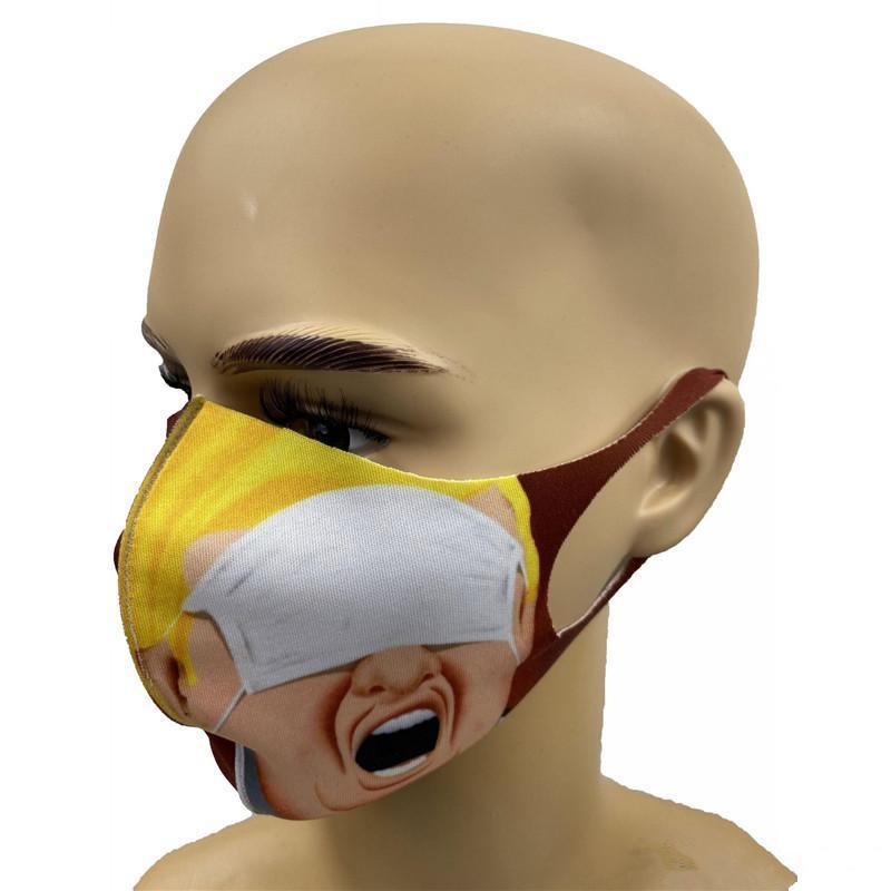 재고 !! 인쇄 마스크 유니버설의 경우 남성과 여성 먼지 마스크 EEA1763 방진 얼굴 마스크 트럼프 미국의 선거 공급