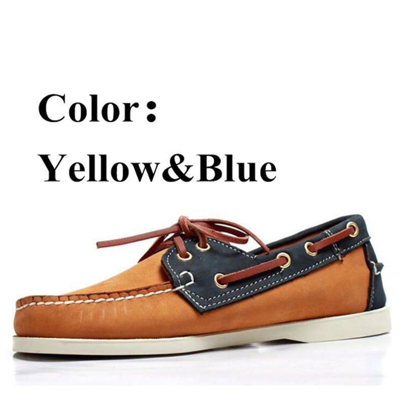 Mocassins Herren Loafer Schuhe Frühling Beleg auf Ebene Lässige Lederschuhe Breath Mokassin Homme britische Driving Schuhe 6 # 21 / 20D50