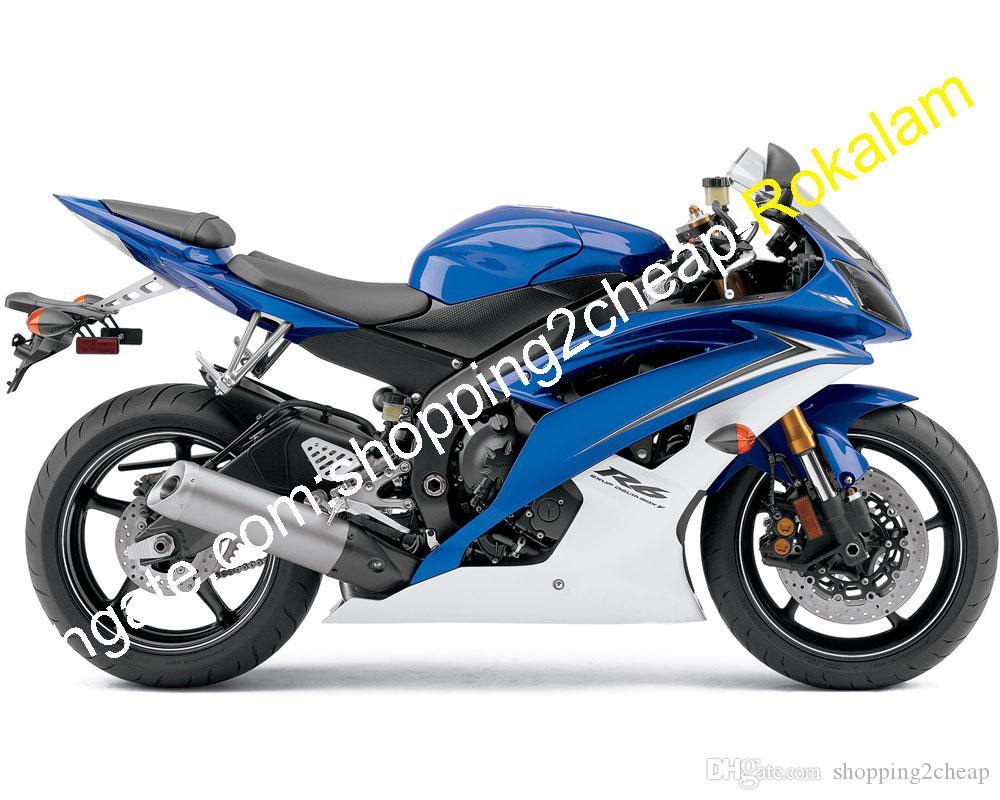 Yamaha YZF-R6 2008-2014 Full Fairing Kit Unpainted