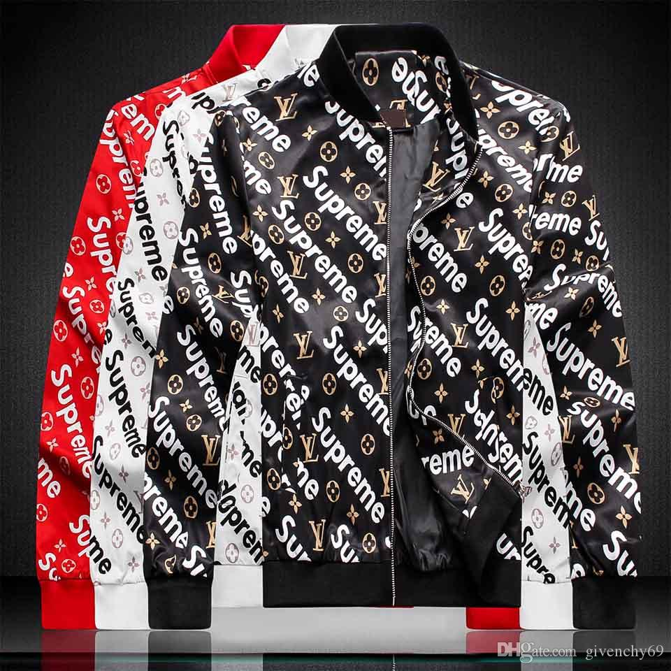 2019 Marke Mens Luxus Winterjacke Männer Jacken Designer Windjacke High Street kanye west Frauen Bomberjacke Mäntel Windläufer
