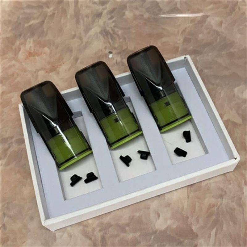 3 unidades / pacote Vagens Vazias para Relx Kit de alta qualidade Pod para Relx Bateria com Caixa De Varejo