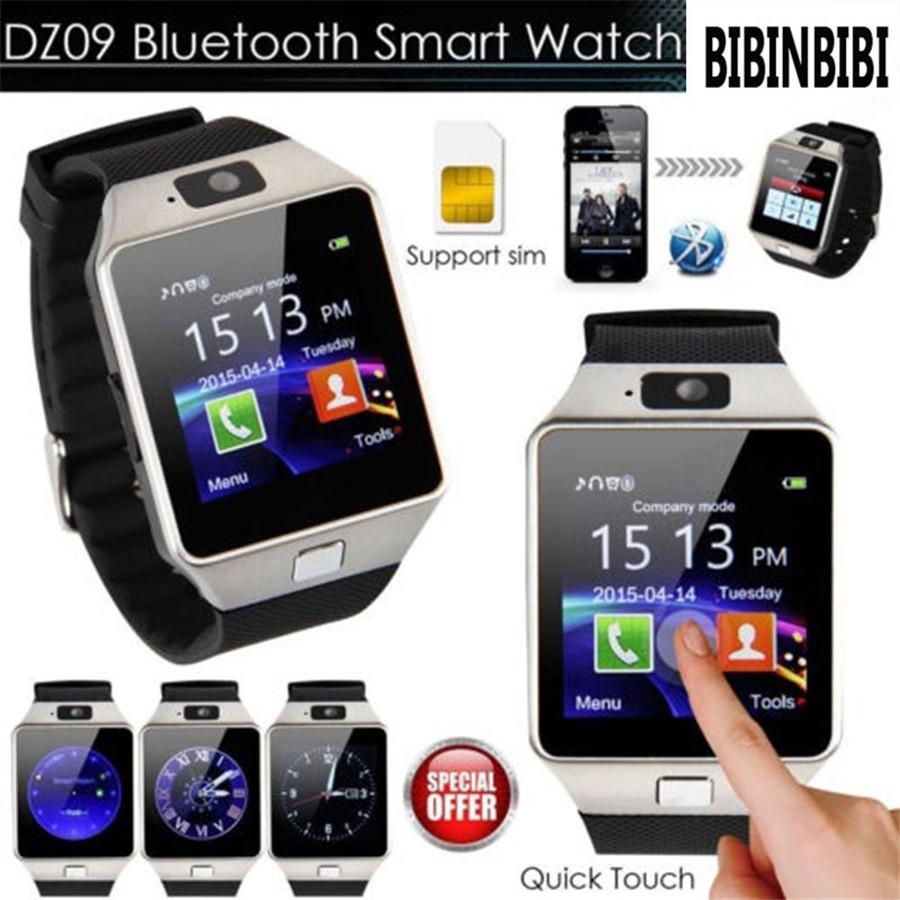 2020 Smart Watch DZ09 SmartWatch Pedómetro Reloj de la tarjeta SIM Tarjeta Slot Mensaje Mensaje Bluetooth Connectivity Android Teléfono Hombres Reloj