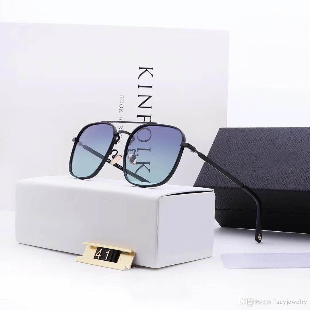 Mens Sunglasses with Gift Packing Fashion Summer Man Sunglasses Highly Quality 9 Color Optional