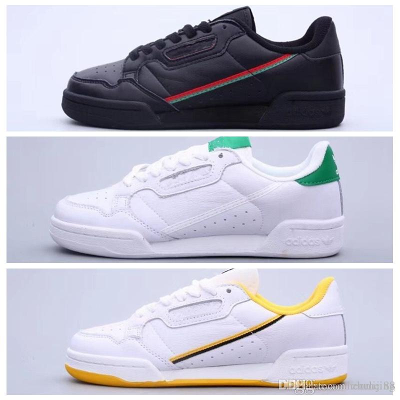 2019 Calabasas Powerphase Grey Continental 80 Casual shoes Kanye West Aero blue Core black OG white Men women Trainer Sports Sneakers CQ1693