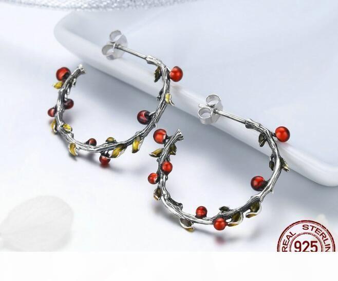 Pendientes romántica laybug SPE 1-2 rosa para las mujeres 925 pendientes de plata esterlina Diminuto para Girl Gfits diseño original