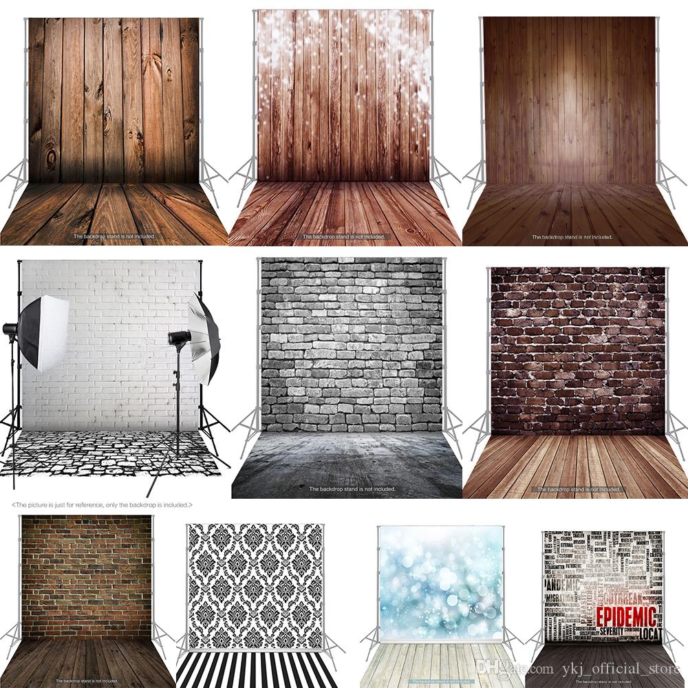 1.5X2M Photography Studio Background Backdrop Screen Cloth Classic Wood Wooden Floor For Camera Studio Photo Lighting