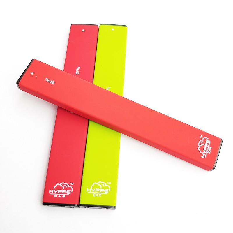 Hyppe Bar jetable à usage unique appareil Vape Pen 280mAh Batterie de Pod cartouches vides Bar 300 Puffs Starter Kit Vs Puff plus Glow Bidi