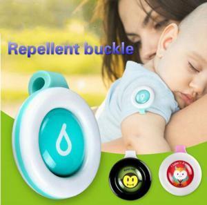 Anti-Sivrisinek Toka Sivrisinek Kovucu Rozet Düğme Toka Bebek Çocuk Karikatür Sevimli Yaz Haşere Reddetmek Tokaları OOA6230
