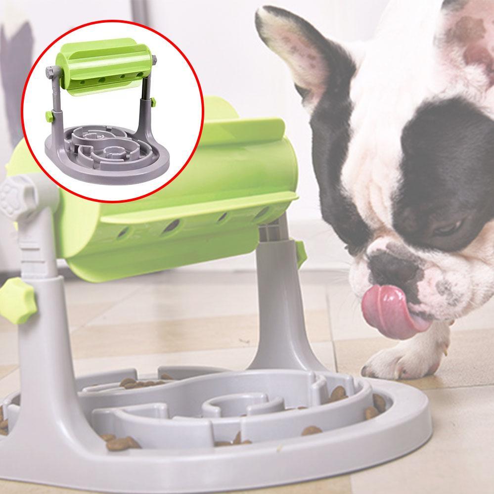 Alimentares tratados enigma Dog Toys comedouro Dog Brinquedos Educativos QI Treinamento Interativo Jogo Toy Anti Choke Slower Feeder bacia