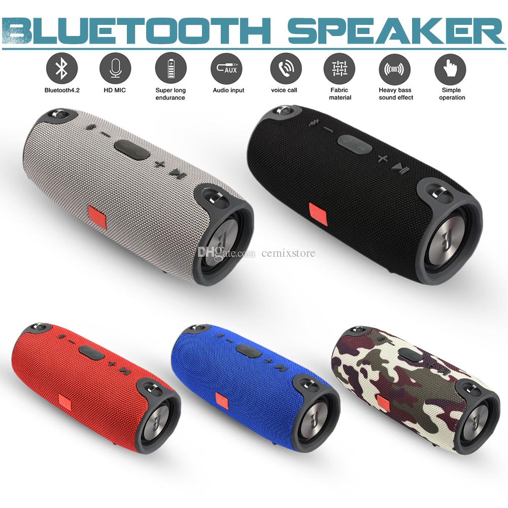 10W Portable Bluetooth Speaker Column Fm Radio Wireless Fashion Sound Box Mp3 Loudspeaker Usb Subwoofer Aux Boombox PC Sound Bar