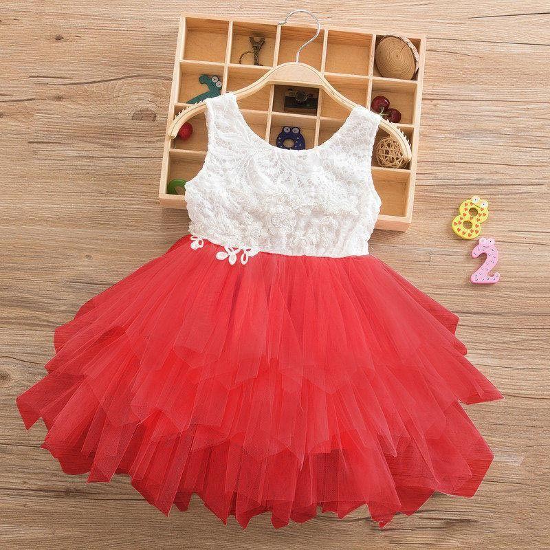 Compre Vestidos De Verano Para Niña 2019 Ropa Para Niñas Vestidos De Fiesta Para La Boda De La Princesa Elegante Ceremonia 4 5 6 Años Disfraz De