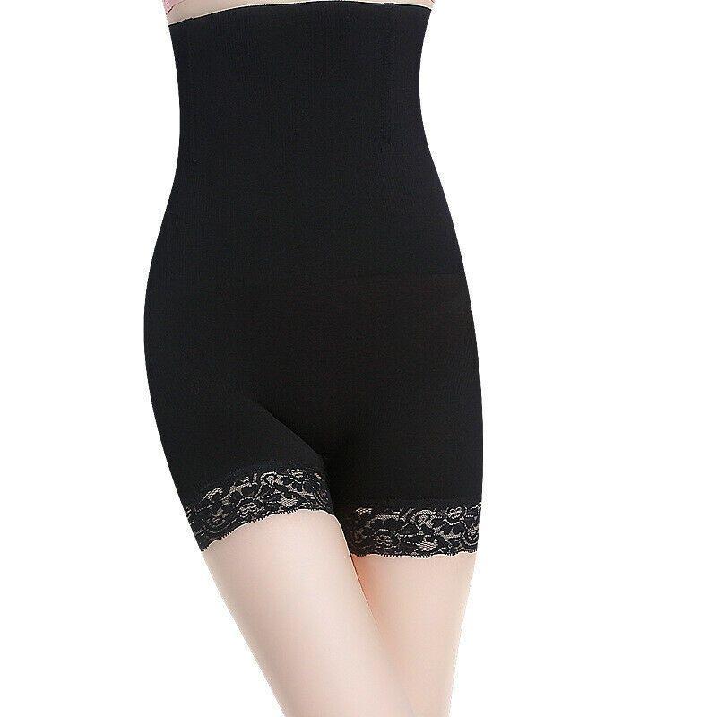 Vente chaude New Womens Ladies Lace Tummy Control Shapermint Shapewear Taille Haute Body Shaper Shorts Taille XS-4XL