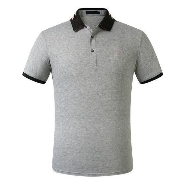 2020 Uomo Polo progettista di stile degli uomini di modo di marca di lusso Inghilterra manica corta da uomo vestiti Popolare T lettere modello traspirante Shirt