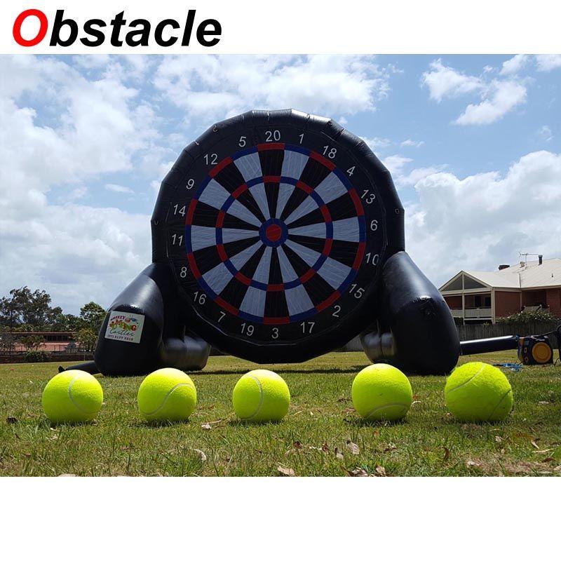Grosshandel Vergnugungspark Riesen Aufblasbare Fussball Dart Board Party Kinder Aufblasbare Fuss Darts Fur Verkauf Benutzerdefinierte Risiko Dart Board