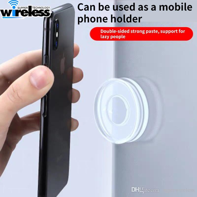 Suporte Phone Holder Silicone adesivos Rubber Set Linha Powstro portátil Estável Nano Pad Mobile Phone Seamless Multi-Funcional