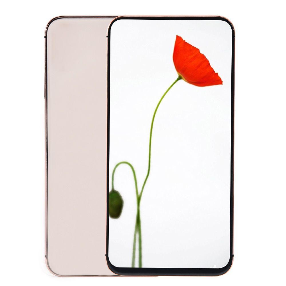 3G WCDMA GooPhone XS Max V2 1 GB 4 GB + 32 GB de 6,5 pulgadas Face ID Todo pantalla del capítulo cuatro núcleos MTK6580 12MP cámara de doble tarjeta SIM Nano metal Smartphone