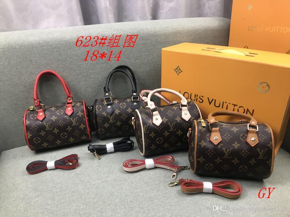 GY 623 El mejor precio de la alta calidad de las señoras de bolso de mano individual del bolso del totalizador del hombro mochila cartera