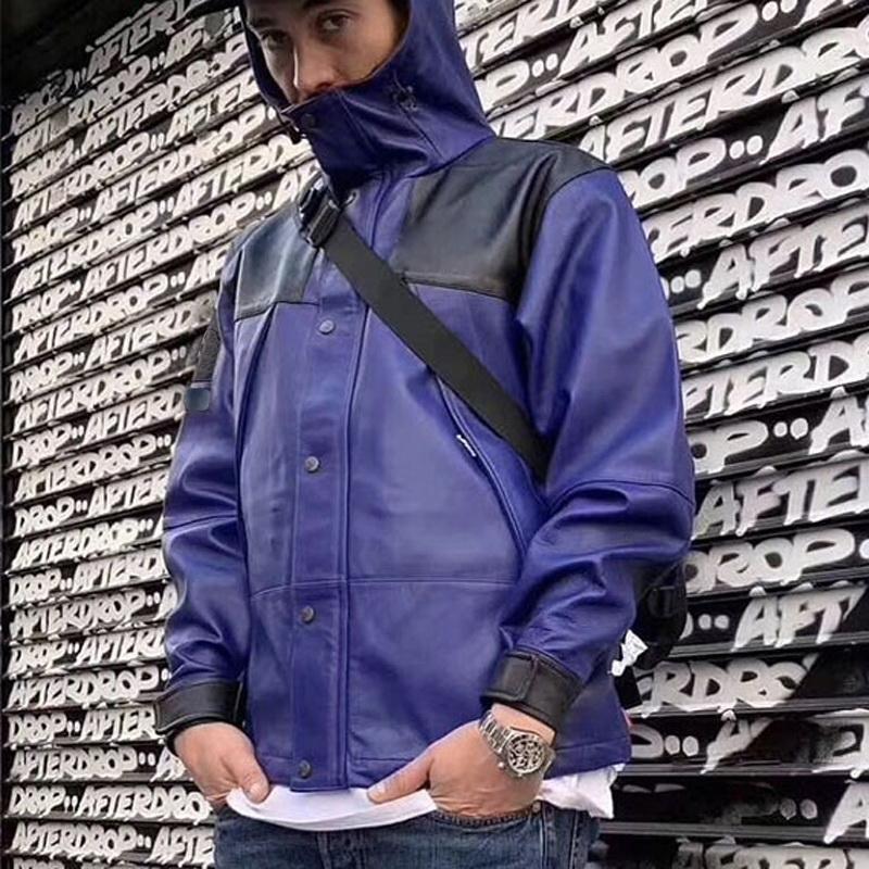 Moda Cuoio-o Mountain Parka rivestimento esterno del cappotto Fashion Street tuta sportiva S-XL HFYMJK152