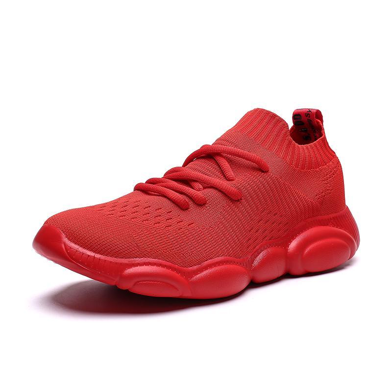 Nuova mesh traspirante all'aperto scarpe da corsa per gli uomini antiscivolo Damping raffreddano Suola Walking Trekking Tempo libero corsa Sneaker
