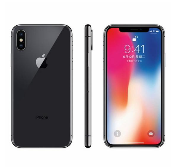 Reformiert Original iPhone X Mit Face ID 3GB RAM 64GB / 256GB ROM 4G LTE Handy 5.8 '' 12.0mp entriegeltes Mobiltelefon