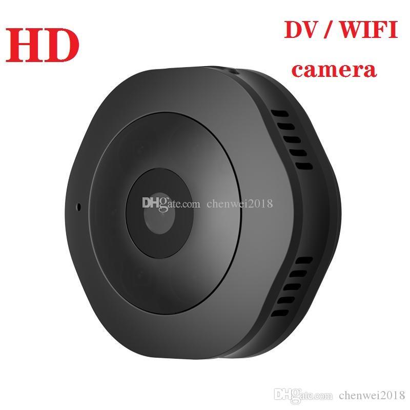 H6 WIFI Mini kamera Ev HD 1080P Gece Görüş Mini DV DVR Açık Hareket Algılama Video Kaydedici Taşınabilir Manyetik El Kamerası