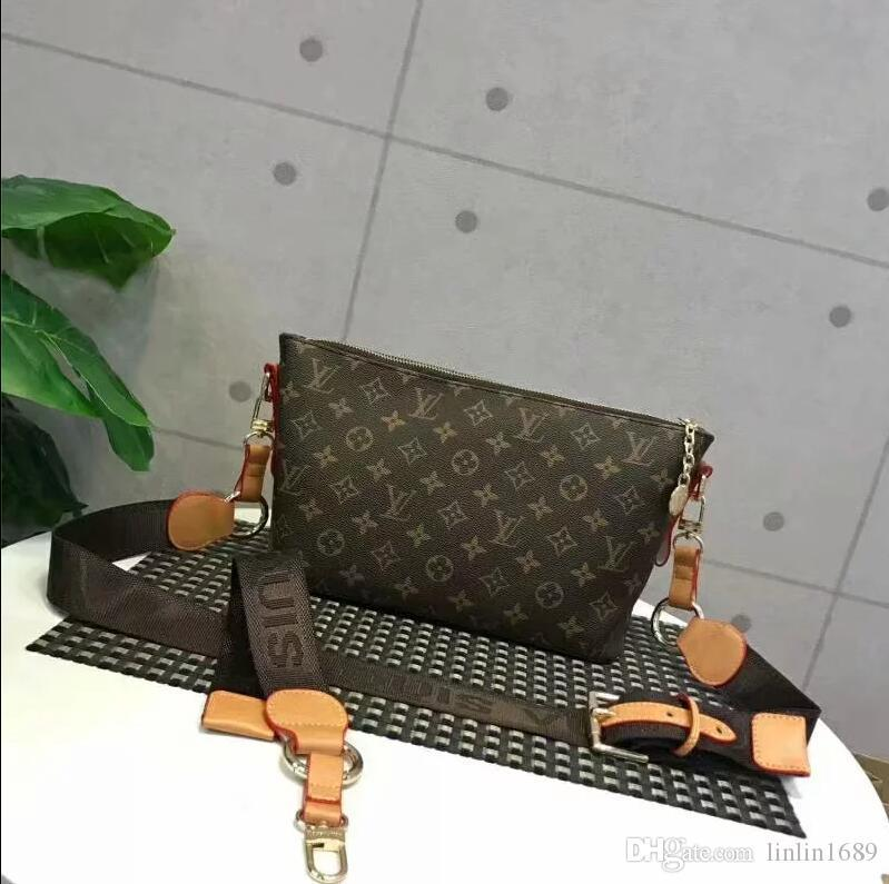 2020 quality upgrad 5 A free shipping high quality genuine leather women's handbag pochette Metis shoulder bags crossbody bags purse tag 019