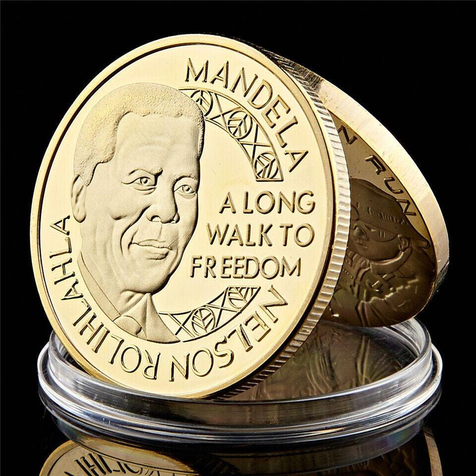 1993 The South Africa President Nelson Mandela Printed Commemorative Coin