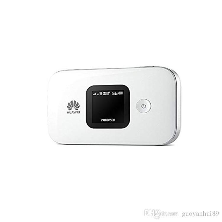 Оригинальные разблокированные горячие продажи CAT4 150 Мбит / с Huawei E5577 портативный 4G LTE WiFi беспроводной маршрутизатор с LCD PLUS 4G TS9 Antenna