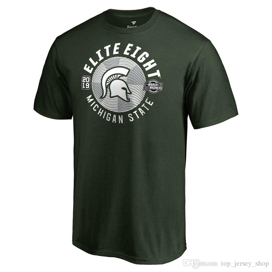 2019 Men Michigan State Spartans 2018 Player Travel Legend National Champions Final Four Basketball Fans T Shirts From Top Jersey Shop 22 34