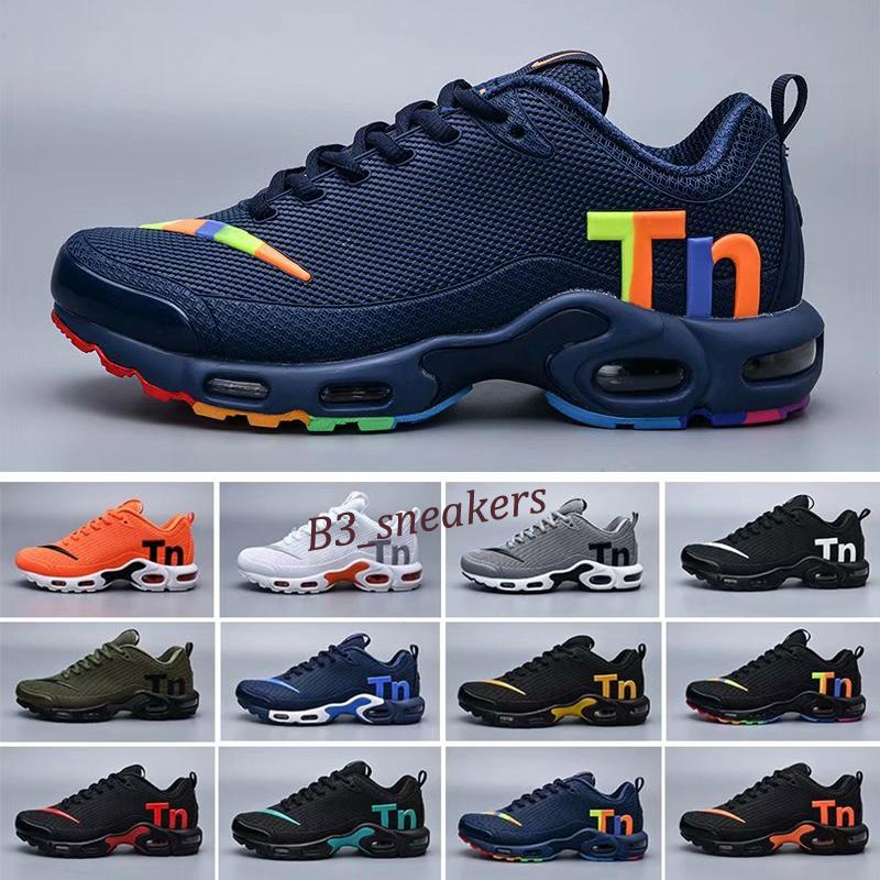 Nike Mercurial Air Max Plus Tn 2019 TN Plus Mercurial Mens Sneakers Chaussures Homme Tns Men Zapatillas Mujer Mercurial Trainers Running Shoes Size 7-13 B9