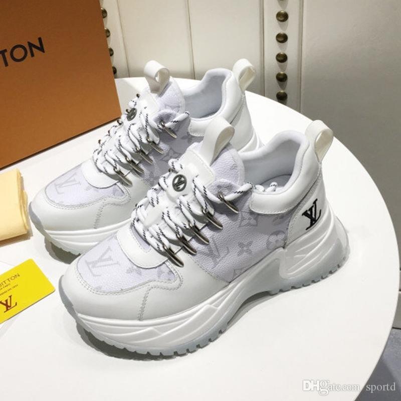 Nuovo lusso moda maschile scarpe casual da uomo in pelle personalizzati Lace-Up pattini respirabili di alta qualità scarpe da uomo formatori scappare PULSE 15