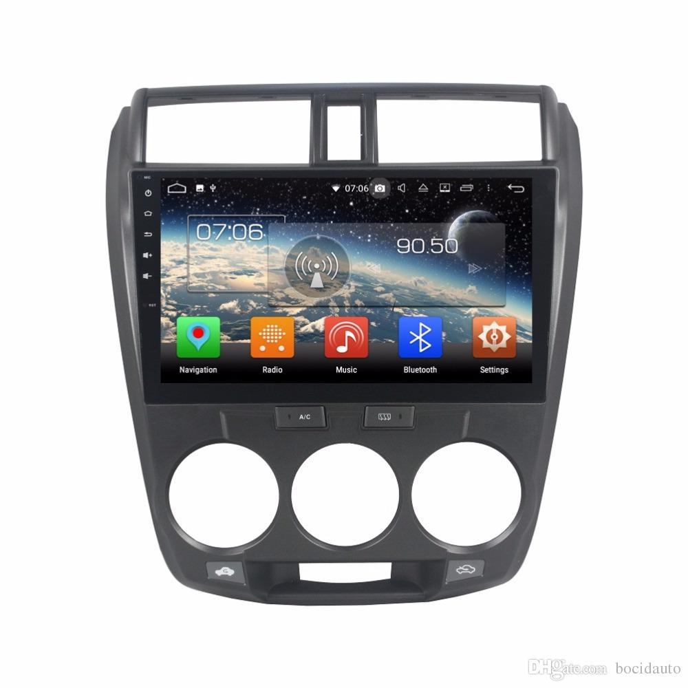 """8 النواة PX5 4GB + 64GB 10.1 """"أندرويد 8.0 سيارة دي في دي GPS لهوندا سيتي 2006-2013 راديو ستيريو بلوتوث WIFI مرآة رابط USB DVR"""