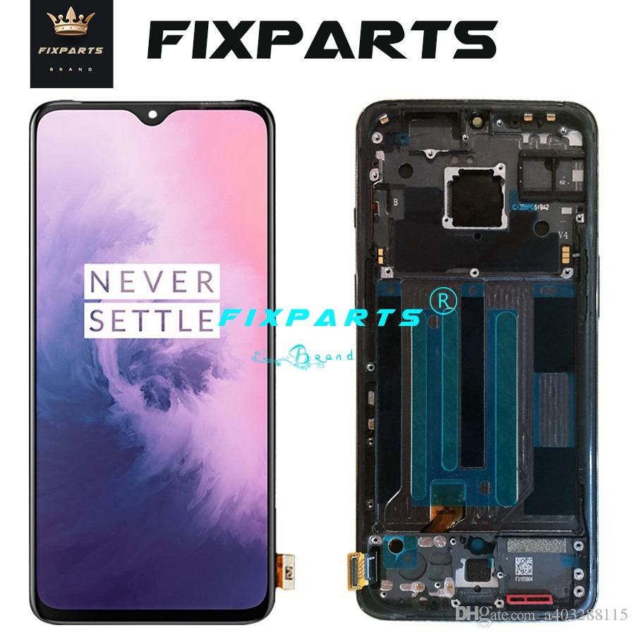 Original AMOLED LCD 6.41 Screen OnePlus 7 LCD Display Screen Touch Panel Digitizer OnePlus7 New Replacement Parts One Plus 7 LCD