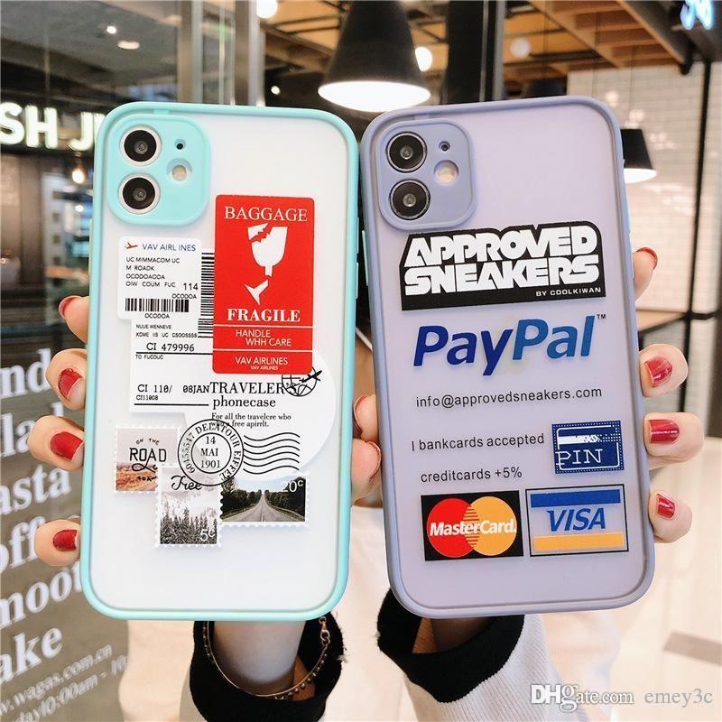 iphone 11 x XS için yüksek kaliteli lüks tasarım Moda sokak trendi şerit Graffiti telefon kılıfı MAX XR 11pro 7 8 artı TPU kapak coque PRO