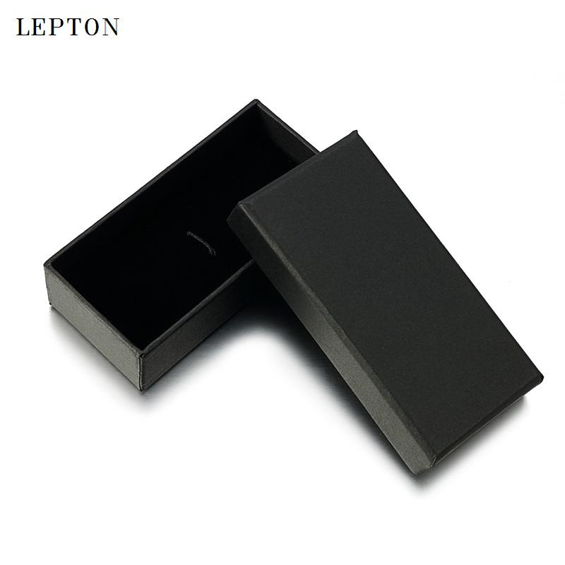 wholesale Black Paper Tie Clips Boxes 20 PCS/Lots High Quality Black matte paper Jewelry Boxes Cuff links Carrying Case wholesale