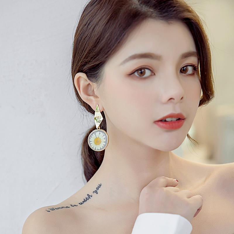 2019 nouvelles 925 boucles d'argent cercle d'aiguilles boucles d'oreilles tempérament femmes boucles d'oreilles fraîches sauvages SH190930 femme