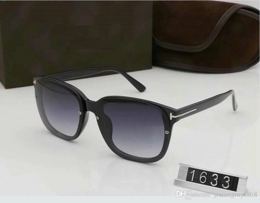 1 pcs New Top qualité nouvelle mode lunettes de soleil pour tom homme femme lunettes Designer marque lunettes de soleil ford lentilles avec boîte