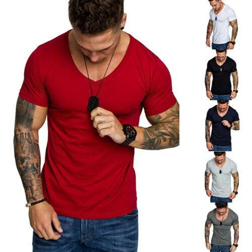 Moda Tişörtlü Erkekler Yeni tişörtler Erkekler Vogue Vintage Gömlek Pamuk O Yaka Kısa Kollu Katı Casual